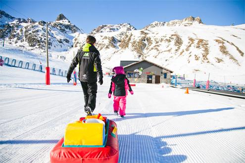 Jardines de nieve Estación de esquí